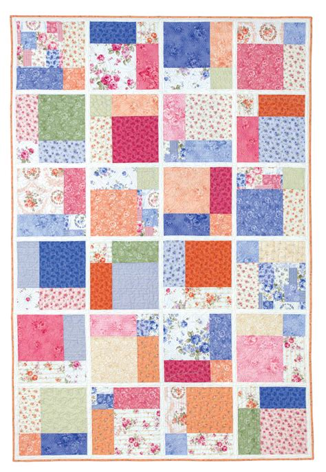 quilt in a day of cake eleanor burns signature pattern