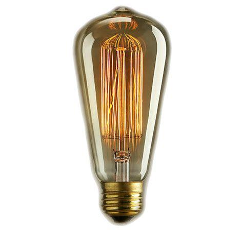 edison style vintage antique light bulb 60 watt 5 5