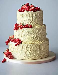 3 Tier White Chocolate Swirl Wedding Cake | M&S | Cake ...