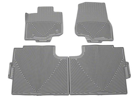 weathertech f 150 all weather front and rear rubber floor