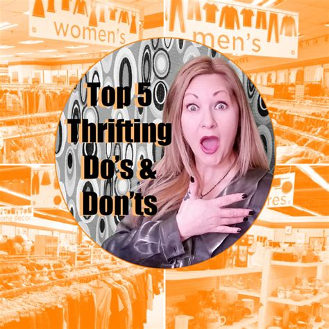 23 best images about thrifting top 5 thrifting do s don ts confessions of a refashionista
