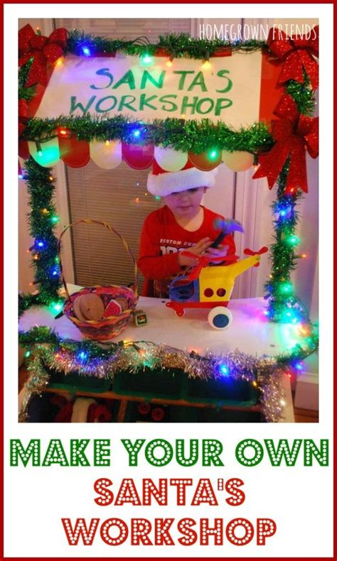 best 25 santas workshop ideas on 614 | c918c16c1c092d6319b011b91c7b7540 preschool christmas activities preschool dramatic play