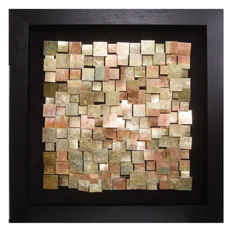 acid treated copper wall art howard elliott