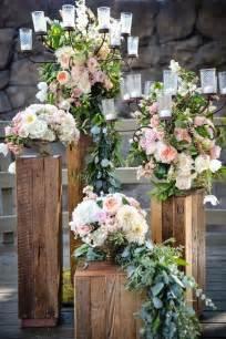 wedding ceremony flowers best 25 wedding pillars ideas on wedding columns winter wedding decorations and