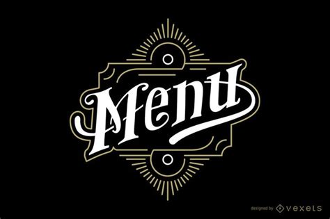menu vintage emblem ad sponsored aff emblem