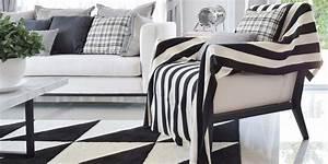 Teppich Schwarz Weiß : teppiche in schwarz wei ein kontrastprogramm ~ A.2002-acura-tl-radio.info Haus und Dekorationen