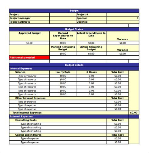 Free Excel Spreadsheet Templates by 18 Free Spreadsheet Templates Free Sle Exle