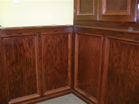 Oak Wainscoting by Our Own House