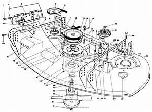 Toro 30144  44 U0026quot  Side Discharge Mower  1985  Sn 5000001