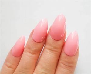 24 Pink Stiletto Nails / FAke Nails / Press on Nails / False