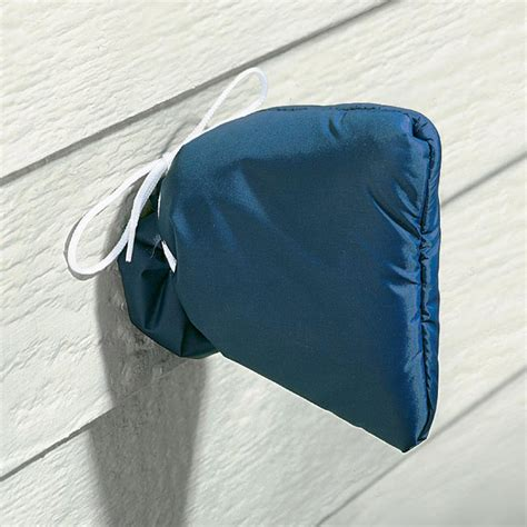 outdoor faucet cover winter insulated outdoor faucet cover prevents frozen pipes