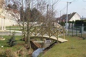 Pont En Bois Pour Jardin : pont en bois acheter pont de jardin en bois sur le site eden deco ~ Nature-et-papiers.com Idées de Décoration