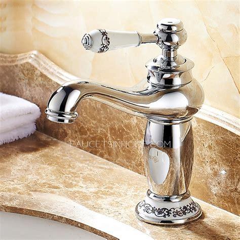 sink bathroom faucet chrome copper discount