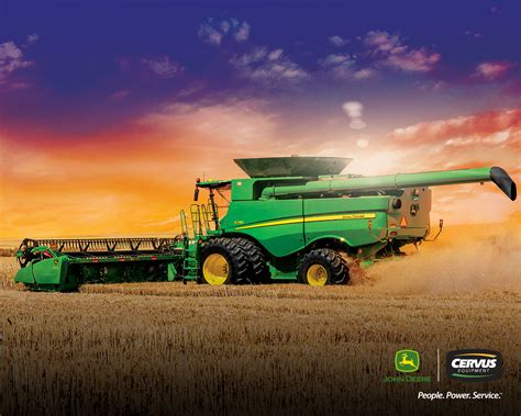 The images are provided for wallpaper use only. 2018 Cervus Equipment Wallpapers | Free John Deere Wallpaper | Free Wallpaper