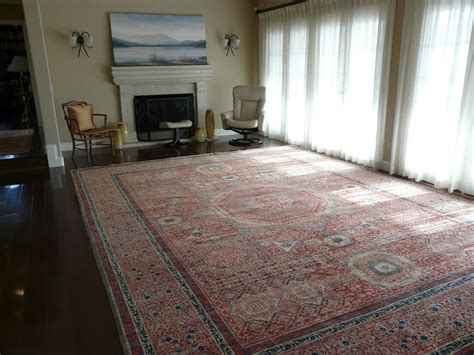 Living Room Without Rugs by Premium Wool Afghanistan Mamluk Rug Without Furniture In