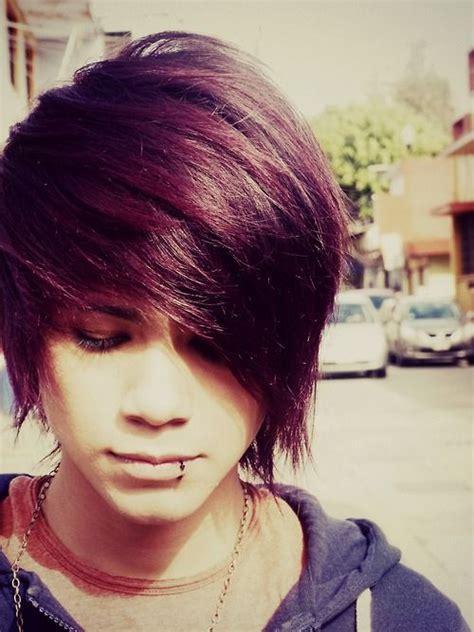 fabulous emo hairstyles  men gravetics