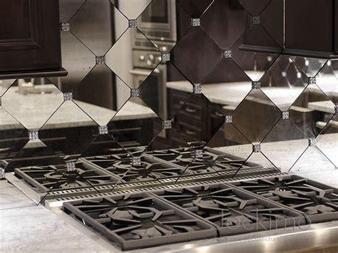 residence antique mirror backsplash tiles