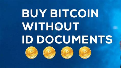 Find a reputable exchange located in the united states to buy bitcoin instantly and securely. How To Buy Bitcoin Without Id - What do I need in order to buy bitcoin with a credit card?