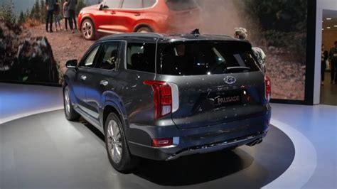 la auto show  hyundai palisade   revealed