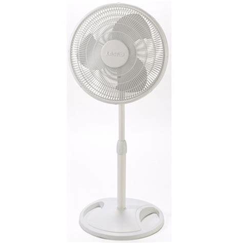 lasko oscillating floor fan floor fans 16 quot oscillating stand fan white by lasko