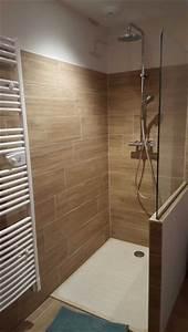 Salle De Bain En L : douche salle de bains thierry andr oni carrelage en baronnies ~ Melissatoandfro.com Idées de Décoration