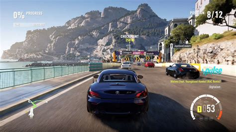 forza horizon  cliffside sprint gameplay gamespot