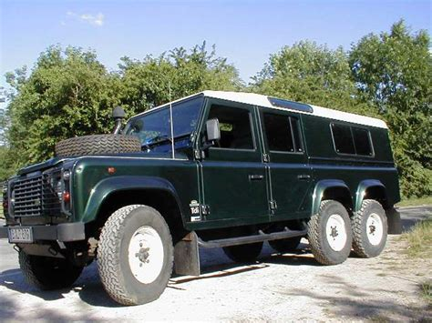 6 X 6 X 6 X 6 by Land Rover Defender 6 Wheel Drive Conversion 6x6 Foleys