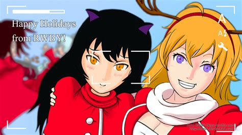 rwby happy holidays 2013 by essynthesis on deviantart