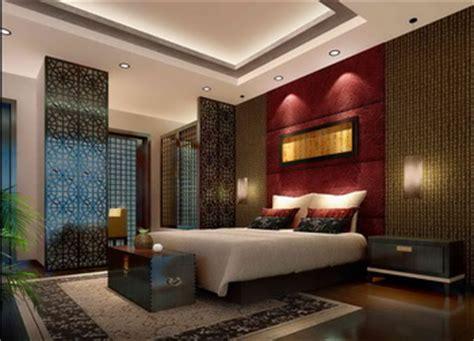 chinese style luxury bedroom scene model 3d model download