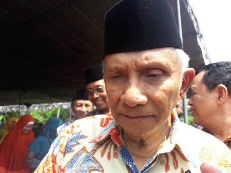 Tokoh Reformasi Amien Rais Jika Ahok Bebas Jokowi