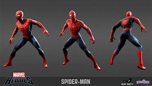 'Marvel Heroes' Official Spider-Man Design Revealed ...