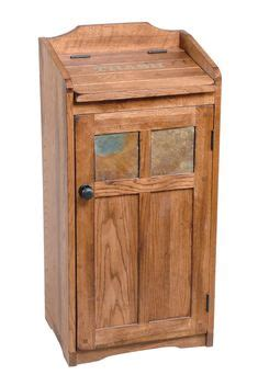 wooden trash  diy woodworking projects