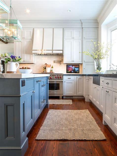 painted kitchen floors photos blue island houzz 3992