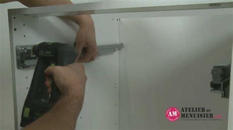 tiroire cuisine comment monter un tiroir coulissant de cuisine