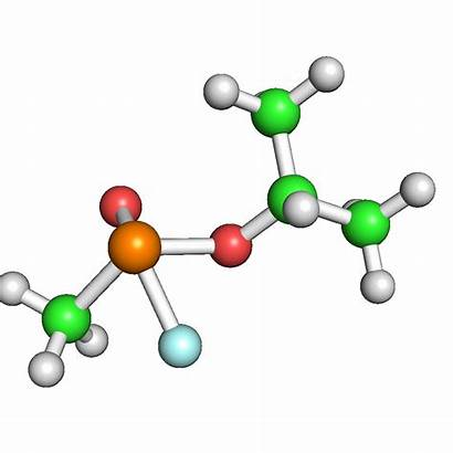 Sarin Compound Animation Naturphilosophie Molecule Antidote Interest