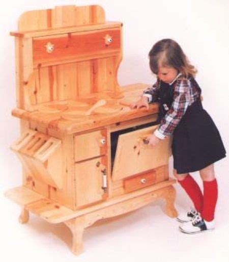 kitchen appliance wooden cook stove woodworking plan
