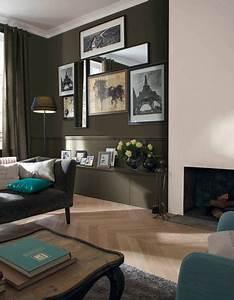 deco salon peindre un mur en deux couleurs dynamisez With delightful peindre salon 2 couleurs 2 peindre un mur en deux couleurs dynamisez vos espaces