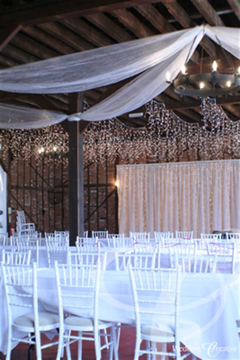 Roof Draping - galleries gt gt venue style gt gt barns wedding creative