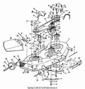 Mtd 144v834h401  1994  Parts Diagram For Deck Assembly