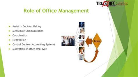 bureau am駭agement introduction to office management