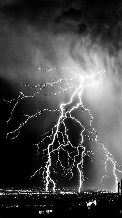 Wallpapers Iphone Storm Background Phone Backgrounds Lightening