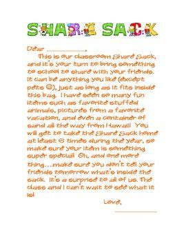 show and tell letter k show and tell parent letter my pre k 61711