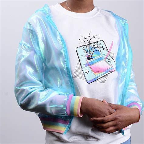 The 25+ best Vaporwave fashion ideas on Pinterest   Vaporwave clothing Harajuku and Pastel jacket
