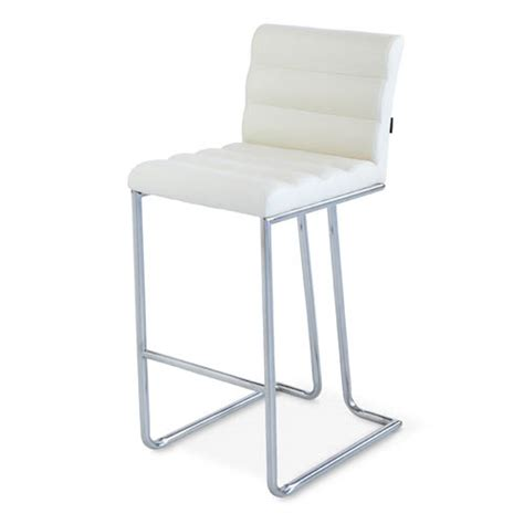 counter height modern bar stool with metal base