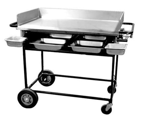 gas griddle grill big grills pg 36s 36 quot portable outdoor lp gas griddle 1198