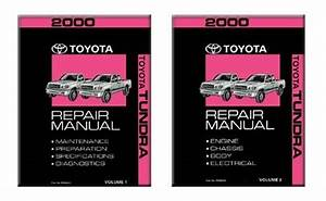 2000 Toyota Tundra  U0026 Sr5 Service Repair Manual