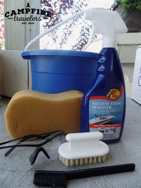 Bass Pro Shop Boat Cleaner by The Best Way To Clean Your Pop Up S Canvas Stains