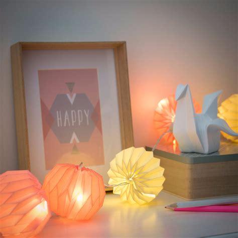 guirlande lumineuse en papier multicolore maisons du monde pickture