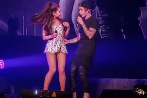Ariana Grande performs with Justin Bieber in Miami - Celeb ...