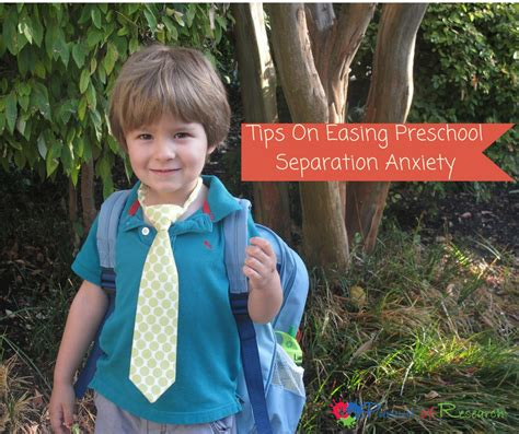 tips on easing preschool separation anxiety 602 | Planning Your Childs Transition to Preschool 3